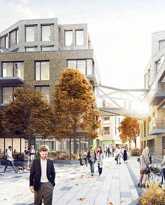 """Otterlo London """"Lucian Grant"""" development borough new homes"""