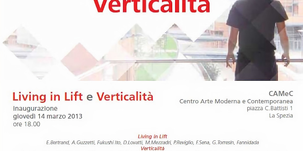 Living in Lift - Camec/La Spezia