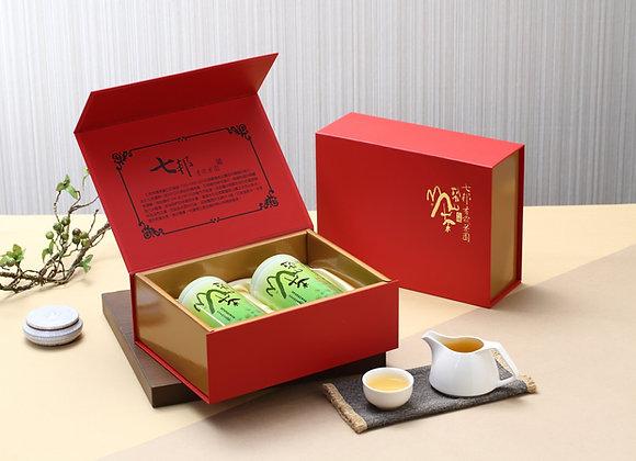有機梨山烏龍茶禮盒組 (150gX2罐)Lishan Organic Oolong Tea Gift Box (Wt.150gX2/bottle)