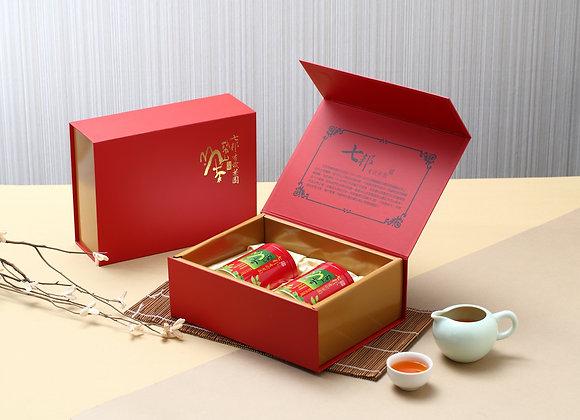 有機梨山紅茶禮盒組 (100gX2罐裝) Lishan Organic Black Tea Gift Box(Wt.100gX2/bottle)