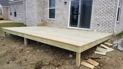 New-Deck-Build, Pre Stain