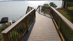 New Stairs to dock
