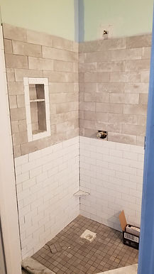 Shower with Tile