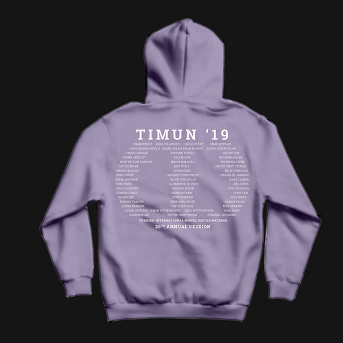 TIMUN '19 Sweatshirt - but the back of it :D