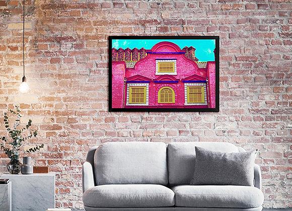 Quadro Casa Rosada