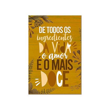 Quadro - Amor Doce - 711