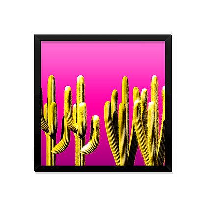 Quadro Modern Yellow & Pink
