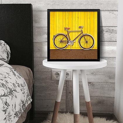 Quadro Bike Yellow