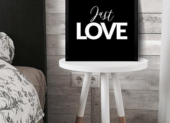 Quadro Just Love