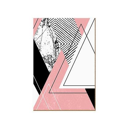Quadro - Rose Triangular - 592