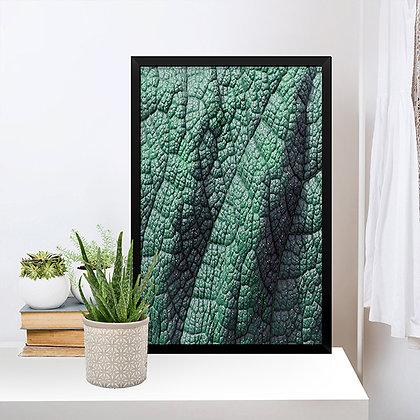 Quadro Textura Folha