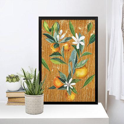 Quadro Flor de Laranja