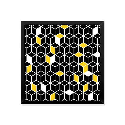 Quadro Geométrico Black
