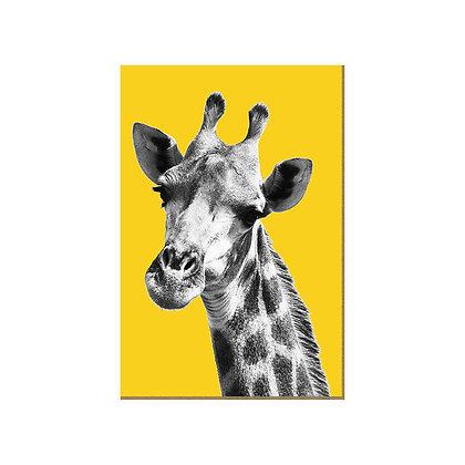 Quadro - Girafa Amarela - 561