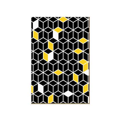 Quadro - Geometrico Amarelo - 562