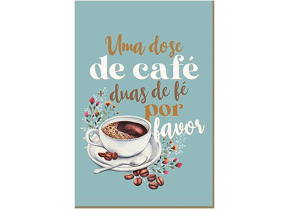 Quadro - Café e Fé - 710