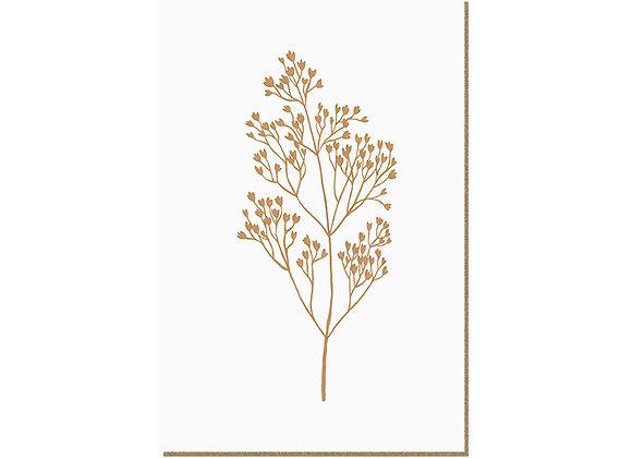 Quadro - Folhagem Dourada - 566