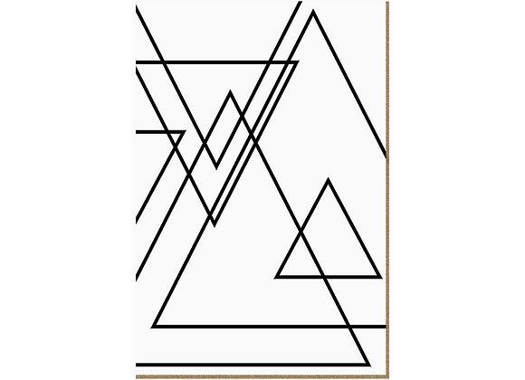 Quadro - Lines Branco - 603