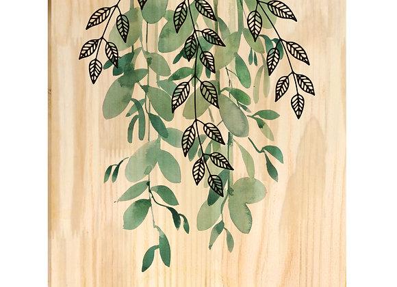 Quadro de Pinus - Planta Pendente