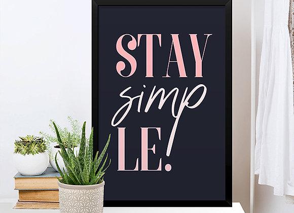 Quadro Stay Simp Le