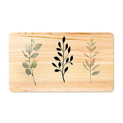 Quadro de Pinus 53x30 - Ramos