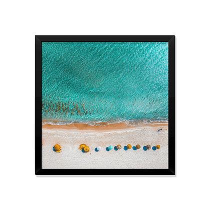 Quadro Praia vista Cima