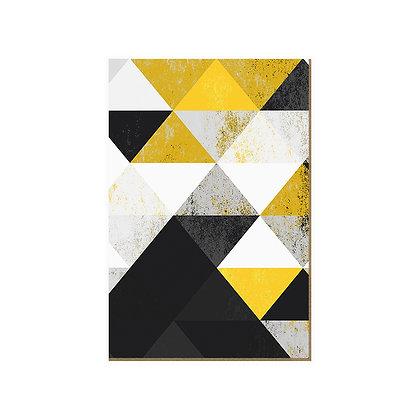Quadro - Triangular Amarelo - 560