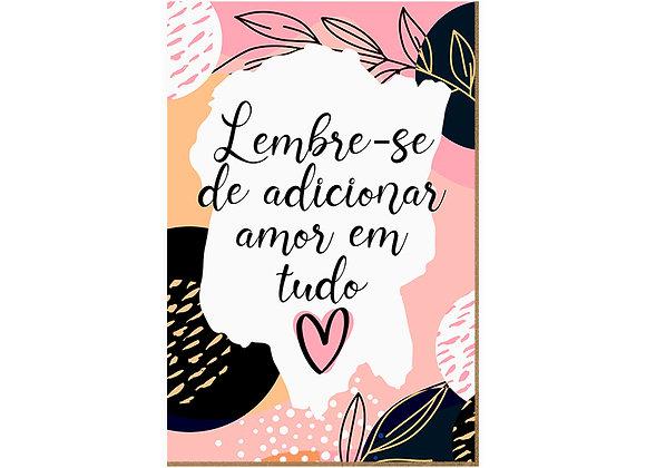 Quadro - Adicionar Amor - 631