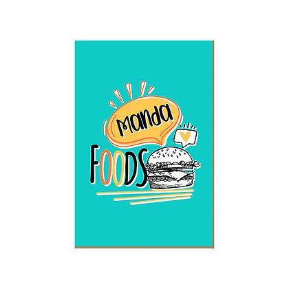 Quadro - Manda Foods - 698