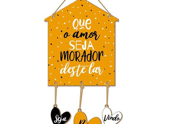 Casa Corações - Amor morador do lar