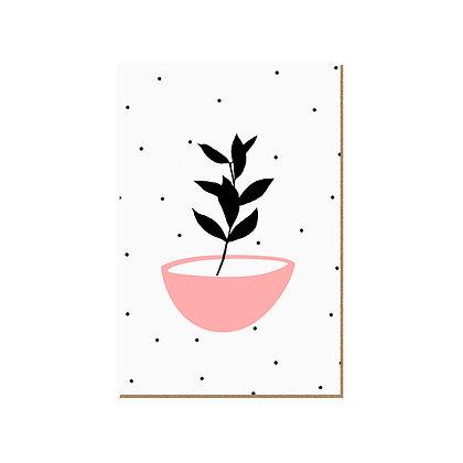 Quadro - Vaso Fundo Branco - 586