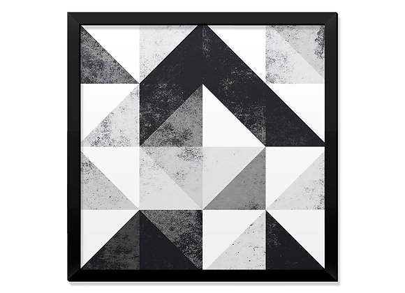 Quadro Concreto Geométrico