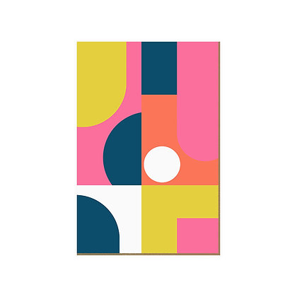 Quadro - Geometric Colors - 579