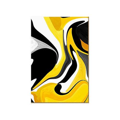 Quadro - Mistura de Tinta Amarela - 563