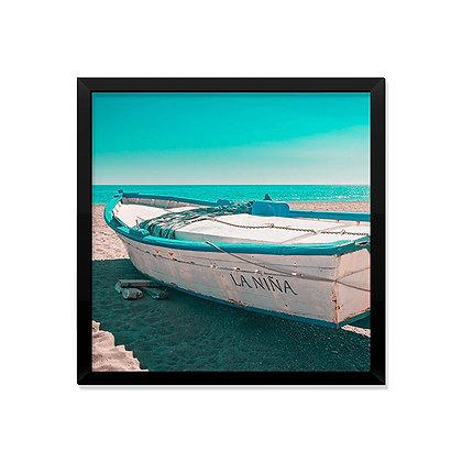Quadro Barco Areia