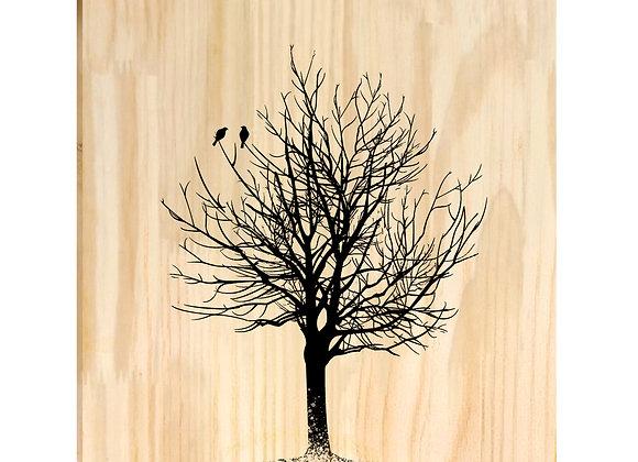 Quadro de Pinus - Árvore