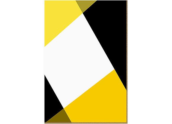 Quadro - Recortes Amarelos - 564