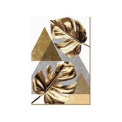 Quadro - Monstera Gold - 541