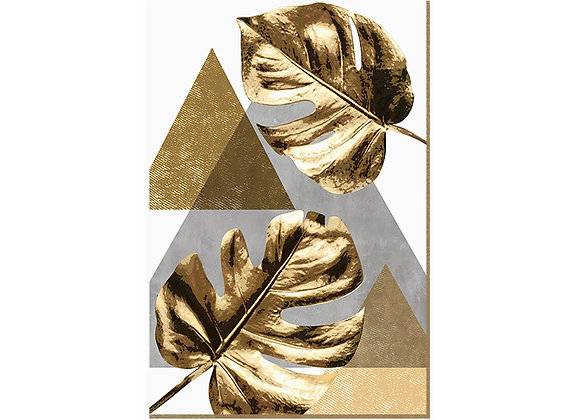 Quadro - Monstera Gold - 541