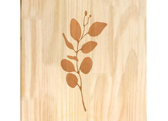 Quadro de Pinus - Ramo Mostarda