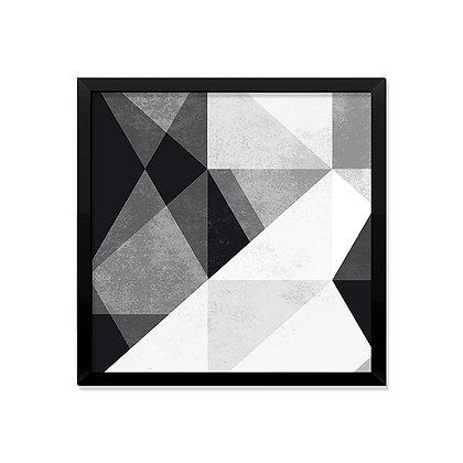 Quadro Geométrico Moderno