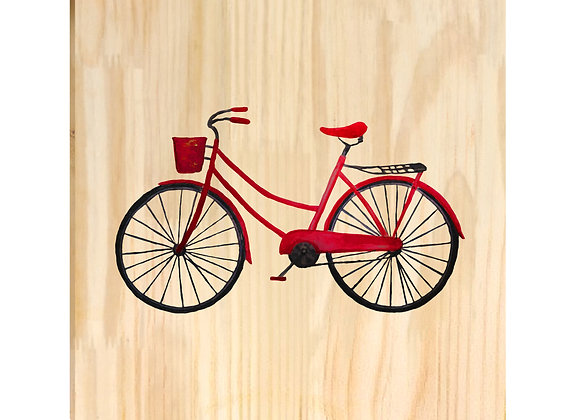 Quadro de Pinus - Bicicleta