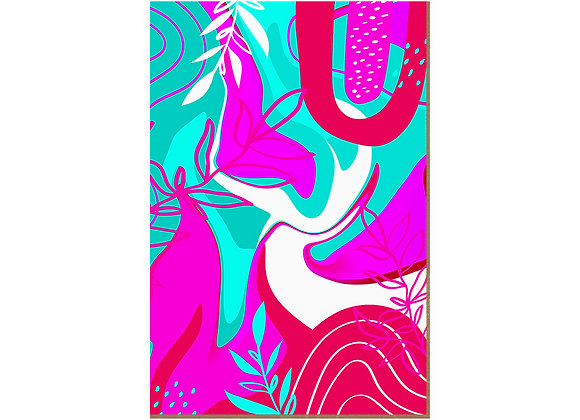 Quadro - Pink Turquesa - 585