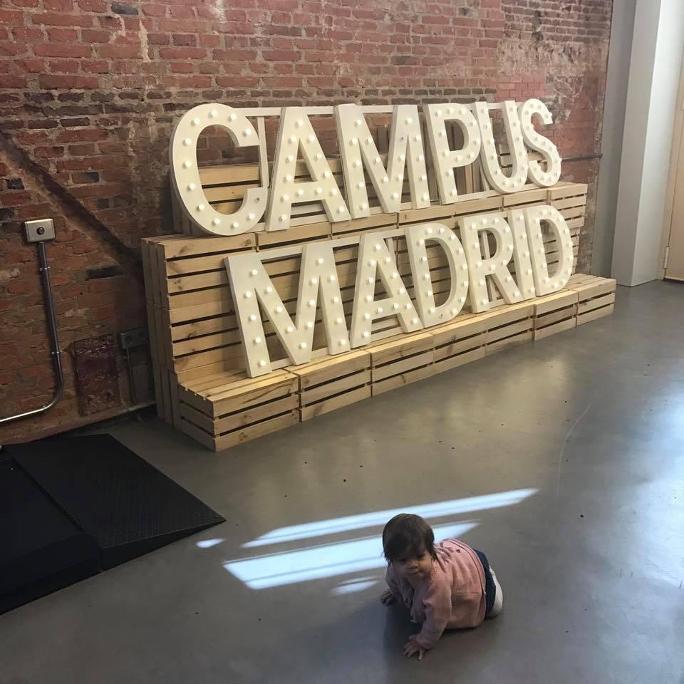 Campus Madrid- пространство рюзвитие стартап сообщества, созданое корпорацией Google