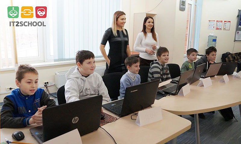 Урок по программированию для детей  it2schhol