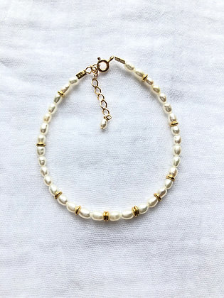 Bracelet perles et donuts