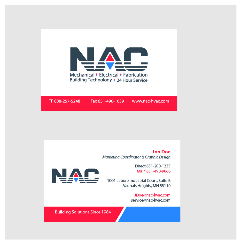NAC Business Cards