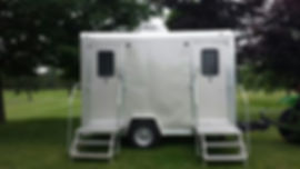 Two stall Restroom Trailer