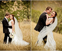 Weddng in a Field
