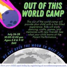 Out of This World Camp